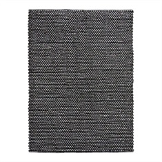 Colemar Charcoal Hand Woven Rug Swatch