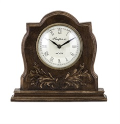 Concepts Eden Carved Clock