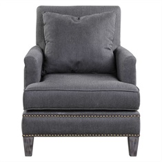 Connolly Charcoal Armchair