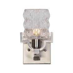 Copeman Brushed Nickel 1 Light Sconce