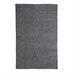 Cordero Dark Grey Hand Woven Rug Swatch