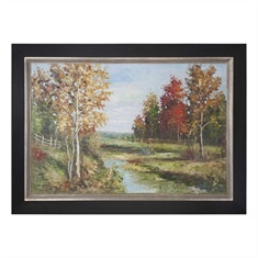 Country Creek Landscape Art