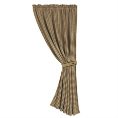 Crestwood Hounds tooth Curtain