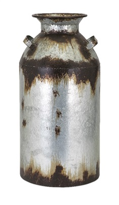Crocket Large Metal Vase