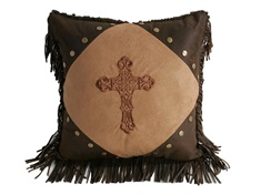 Crosses Diamond Cross Pillow