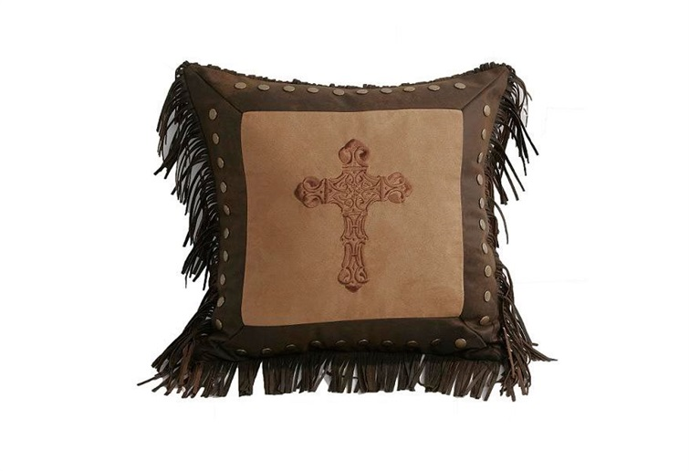 Crosses Square Cross Pillow