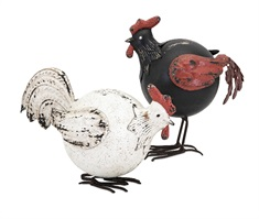 Dacey Roosters - Set of 2