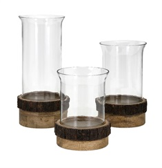 Damari Pillar Candleholders - Set of 3