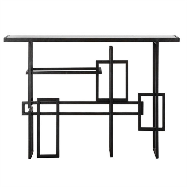 Dane Industrial Console Table