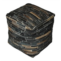 Dark Brown Tiago Pouf