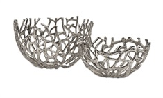 Davidson Aluminum Corals - Set of 2