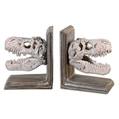 Dinosaur Bookends, S/2