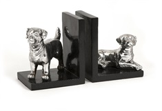 Dog Bookends - Set of 2