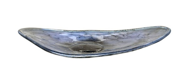Dove Gray Paddle Bowl
