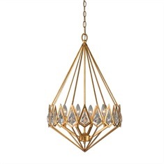 Eclatant 4 Light Gold Diamond Pendant