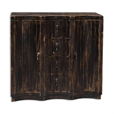 Edeline Black Buffet Chest