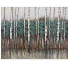 Edge Of The Forest Canvas