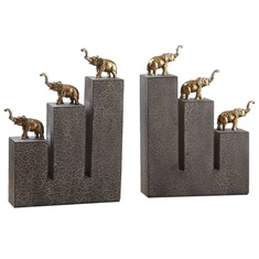 Elephant Bookends, S/2