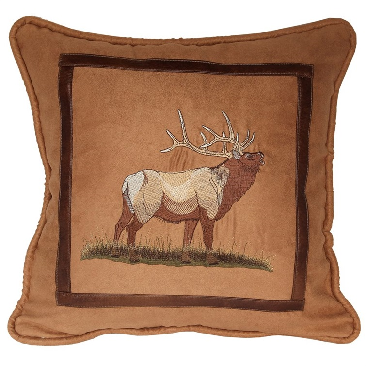 Crestwood Elk Pillow