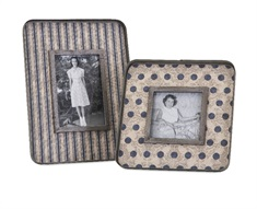 Ella Elaine Galvanized Photo Frames - Set of 2