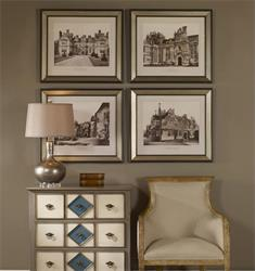 English Cottage Wall Art Set/4