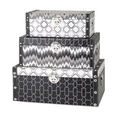 Essentials Jazz Storage Boxes - Set of 3