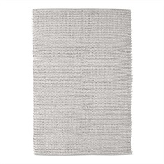 Europa Ivory Hand Woven Rug Swatch