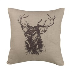 Fairfield Elk Bust Pillow