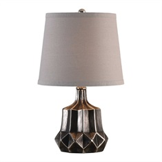 Felice Dark Charcoal Accent Lamp
