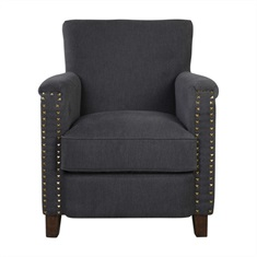 Finchly Deep Gray Armchair