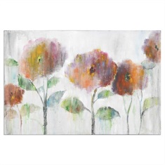 Flowers Of The Rainbow Canvas Art