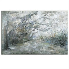 Forest Lane Canvas Art