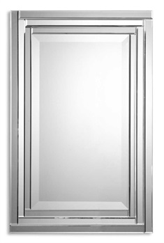 Frameless Vanity Mirror