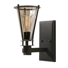 Frisco 1 Light Rustic Wall Sconce