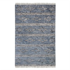 Gamba Indigo Cotton Rug Swatch
