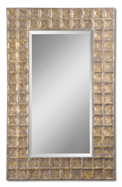 Gavino Antique Gold Mirror