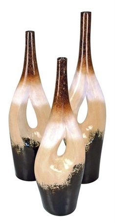 Gemini Vases Set of 3