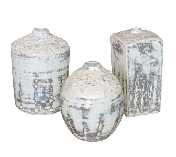 Geometric Vase Set of 3