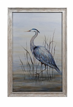 Hampton Framed Oil Painting