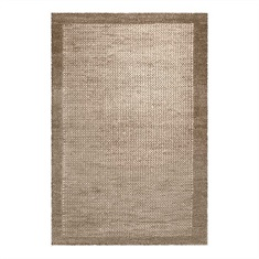 Hana Natural Hand Woven Rug Swatch