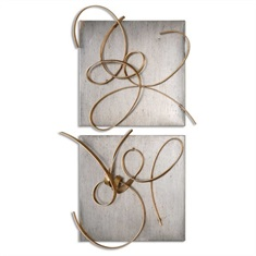 Harmony Metal Wall Art, S/2