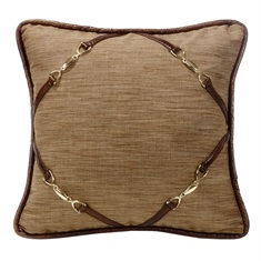 Highland Lodge Buckle Pillow