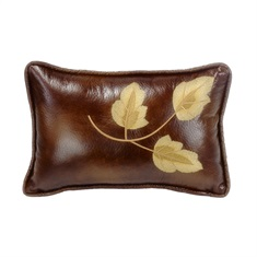 Highland Lodge Leaf Pillow