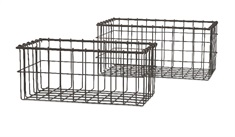 Hoyle Wire Baskets - Set of 2
