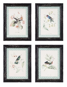 Hummingbird Wall Decor - Ast 4