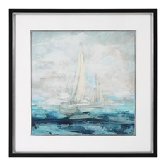 Into The Distance Sailing Print