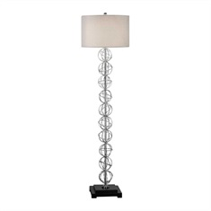 Italo Stacked Sphere Floor Lamp