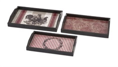 Jackie Serving Trays - Set of 3