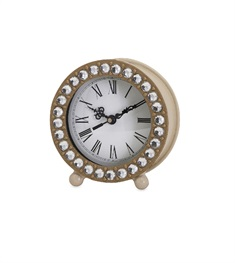 Jeweled Small Clock