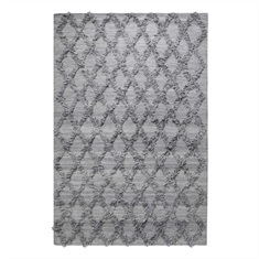 Jucar Gray Hand Woven Rug Swatch